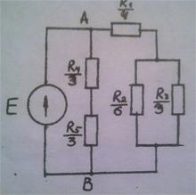 схемы электрические постоянного тока