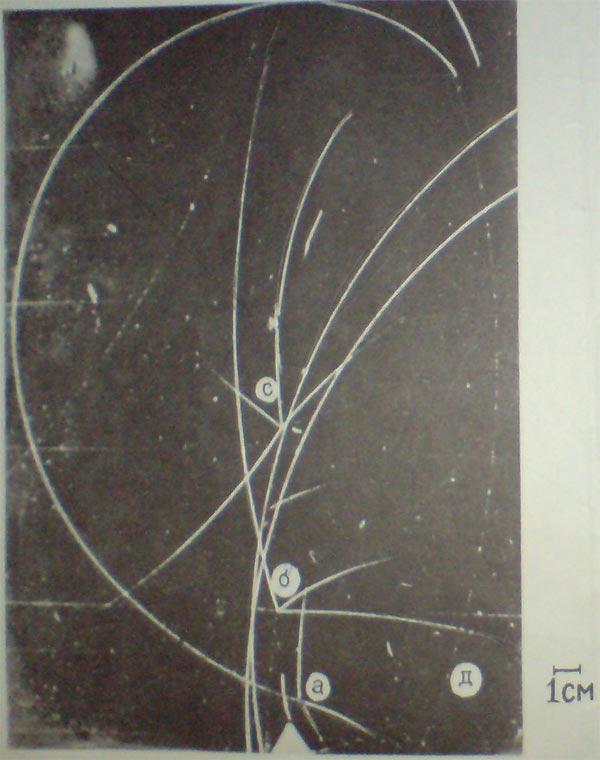Треки частиц в камере вильсона картинки